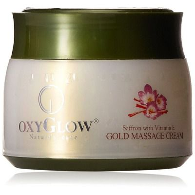Buy OxyGlow Saffron With Vit E Gold Massage Cream
