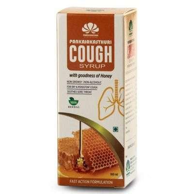 Buy Pankajakasthuri Cough Syrup with Honey