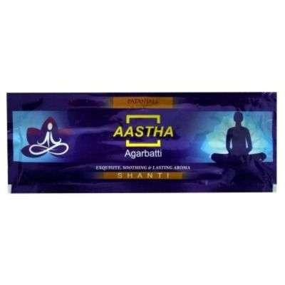 Buy Patanjali Aastha Agarbatti - Shanti