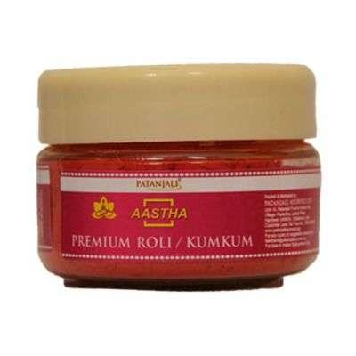 Buy Patanjali Aastha Premium Roli / Kumkum