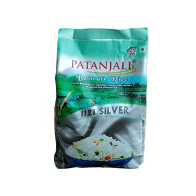 Buy Patanjali Basmati Rice Silver