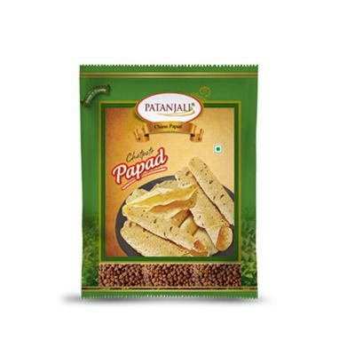 Buy Patanjali Chana Dal Papad