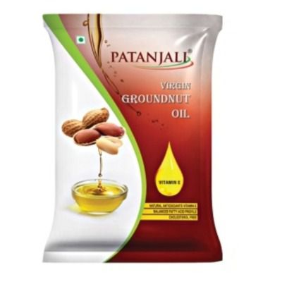 Buy Patanjali Groundnut Oil Pouch