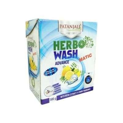 Buy Patanjali Herbo Wash Advance Matic Detergent Powder