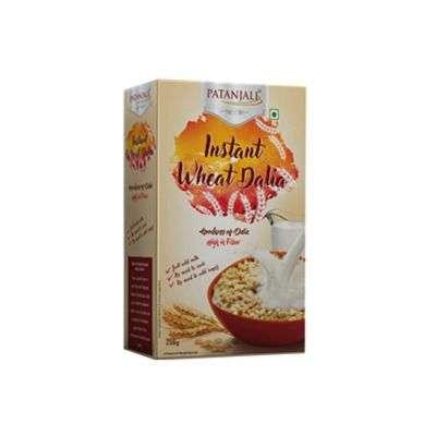 Buy Patanjali Instant Wheat Dalia
