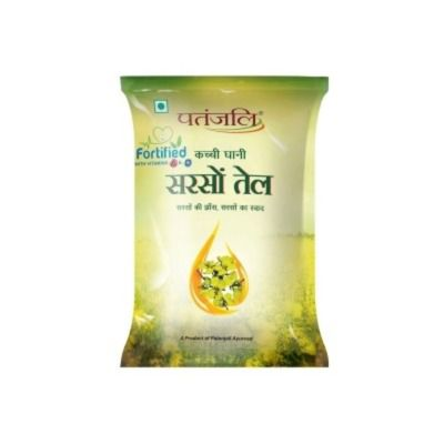 Buy Patanjali Kachi Ghani Mustard Oil Pouch
