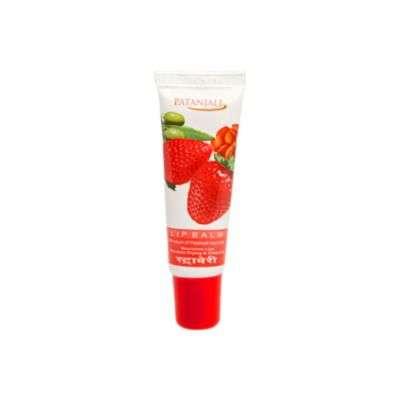 Buy Patanjali Lip Balm Strawberry