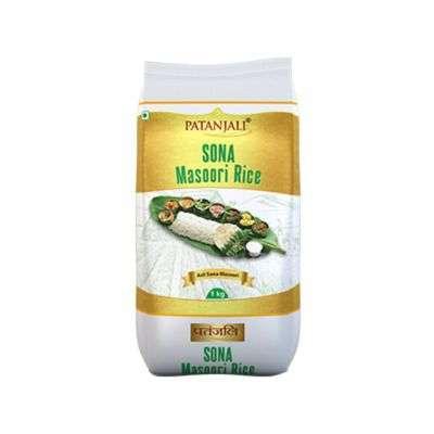 Buy Patanjali Sona Masoori Rice
