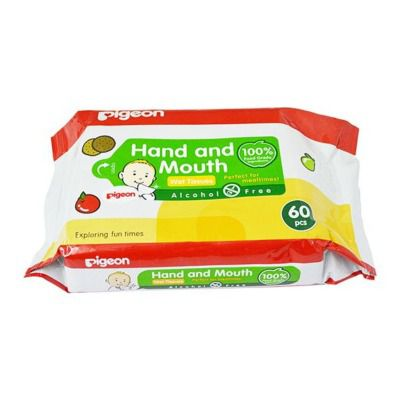 Pigeon Hand and Mounth 2 In 1 Wipes