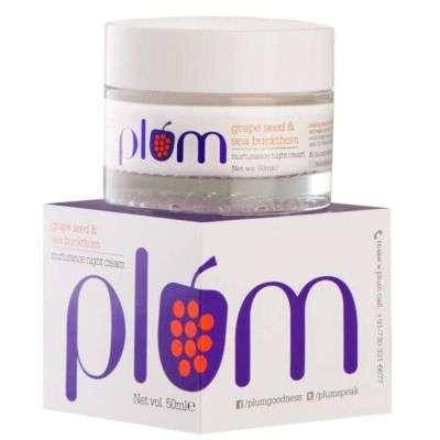 Plum Grape Seed And Sea Buckthorn Nurturance Night Cream