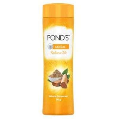 Buy POND'S Sandal Radiance Talc Powder Natural Sunscreen