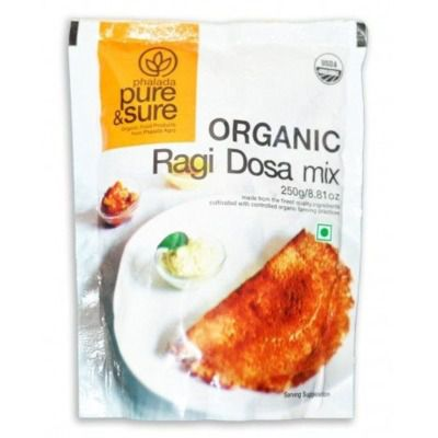Buy Pure & Sure Organic Ragi Dosa Mix
