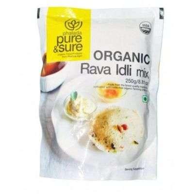 Buy Pure & Sure Organic Rava Idli Mix