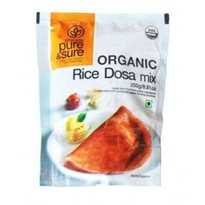Buy Pure & Sure Organic Rice Dosa Mix