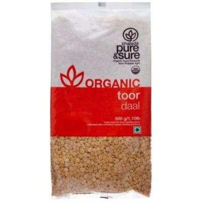 Buy Pure & Sure Organic Toor Dal