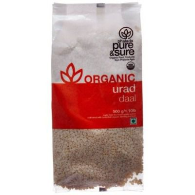 Buy Pure & Sure Organic Urad Dal Split