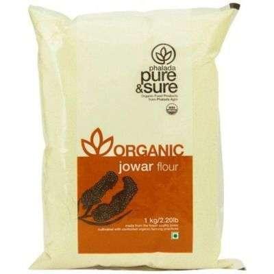 Buy Pure & Sure Organic Jowar Flour