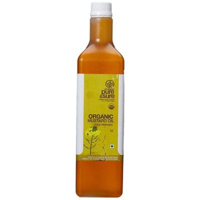 Buy Pure & Sure Organic Mustard Oil