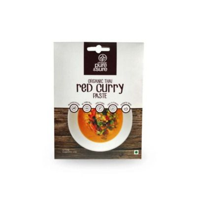 Buy Pure & Sure Organic Red Curry Paste