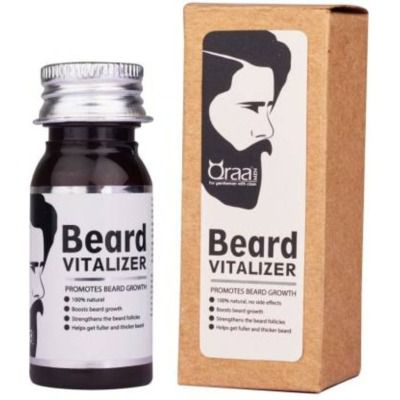 Buy Qraa Men Beard Vitalizer - For Beard Growth