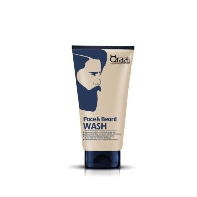 Buy Qraa Men Face and Beard Wash