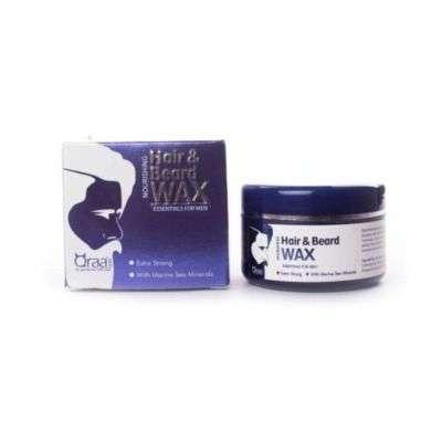 Buy Qraa Men Nourishing Styling Hair And Beard Wax With Marine Sea Minerals