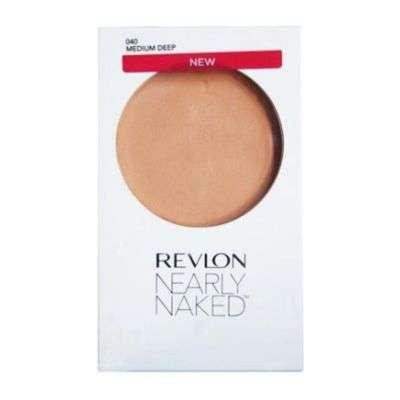 Buy Revlon Womens Nearly Naked Makeup Pressed Powder Compact - Medium Deep