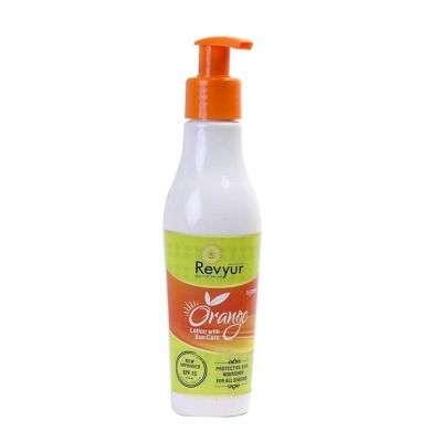 Buy Revyur Orange Lotion With Sun Care