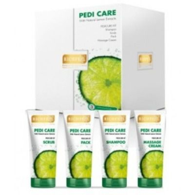 Buy Richfeel Pedi Care Kit With Natural Lemon Extracts