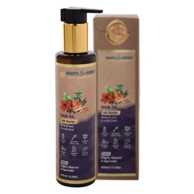 Buy Roots and Herbs 49 Herbs Hair Oil