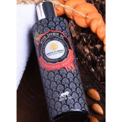 Buy Roots And Herbs Carrot Seed Radiance Skin After Shower Oil