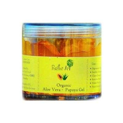 Buy Rustic Art Organic Aloe Vera Papaya Gel