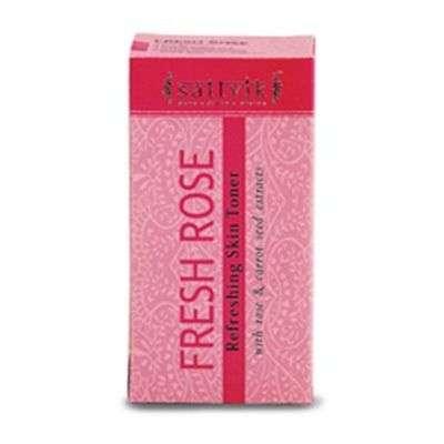 Buy Sattvik Oganics Fresh Rose Toner