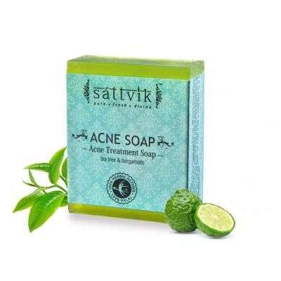 Buy Sattvik Organics Acne Magic Soaps Set