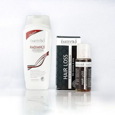 Buy Sattvik Organics Anti Hair Fall Combo