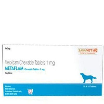 Sava Healthcare Metaflam Chewable Tablet