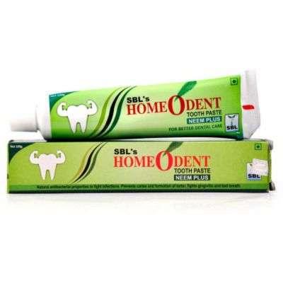 Buy SBL Homeodent Neem Plus Toothpaste