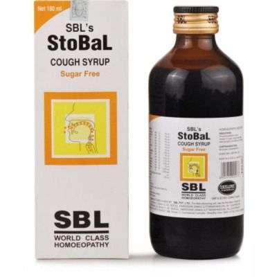 Buy SBL Stobal Cough Syrup Sugar Free