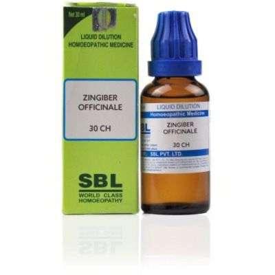 Buy SBL Zingiber Officinale - 30 ml