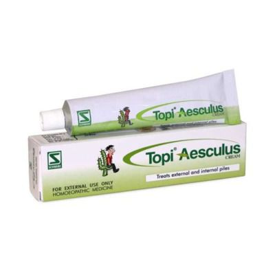 Buy Schwabe Homeopathy Topi Aesculus Cream