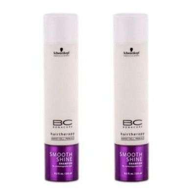 Buy Schwarzkopf Bc Smooth Shine Shampoo (Pack Of 2)