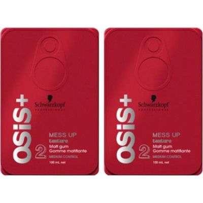 Buy Schwarzkopf Osis+ Mess Up (Pack of 2) Hair Styler