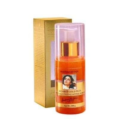 Buy Shahnaz Husain 24 Carat Gold Plus Anti-Age Exfoliating Scrub