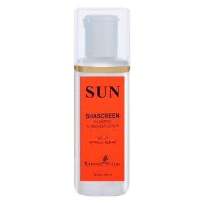 Shahnaz Shascreen Ayurvedic Sunscreen Lotion SPF-25 with UV Guard