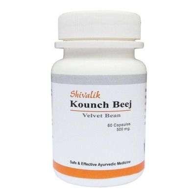 Buy Shivalik Herbals Kounch Beej Capsules
