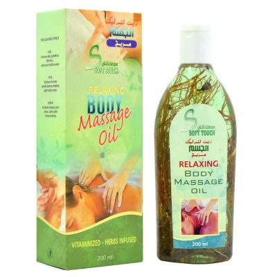 Buy Soft Touch Relaxing Body Massage Oil