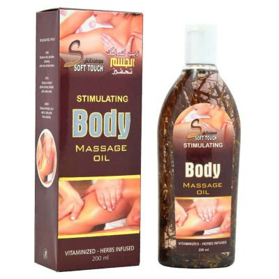 Buy Soft Touch Stimulating Body Massage Oil