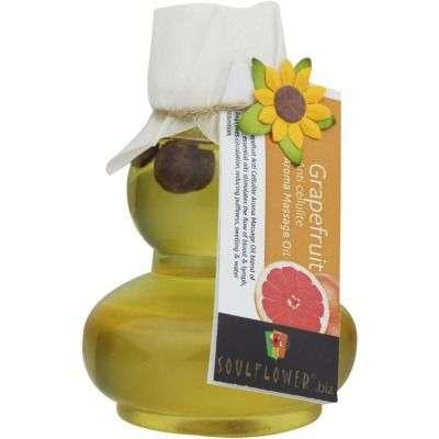 Buy Soulflower Grapefruit Anti Cellulite Aroma Massage Oil