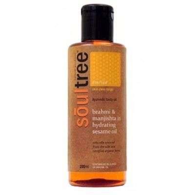 Buy SoulTree Brahmi & Manjishta in Hydrating Sesame Anti Aging Oil