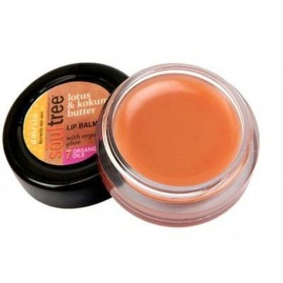 Buy SoulTree Lotus & Kokum Butter Lip Balm
